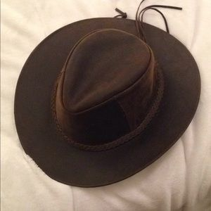Accessories - 100% leather rancher cowboy hat from Ecuador